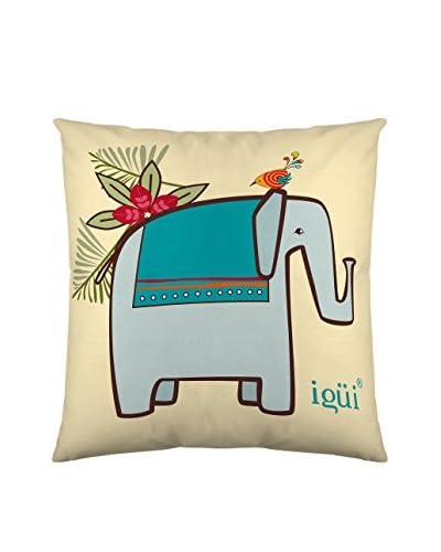 Igüi Home Funda de Cojín Ayira Elephant