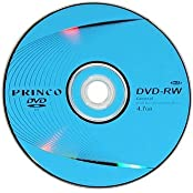12cm Blank DVD-RW 4.7GB 10 Pcs In One Packaging The Price Is For 10 Pcs