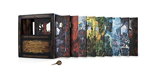 Blu-ray : Game Of Thrones: Complete Series Gift Set (33 Discos)