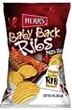 Herr's Baby Back Ribs Potato Chips 1 Oz. (Pack of 42)