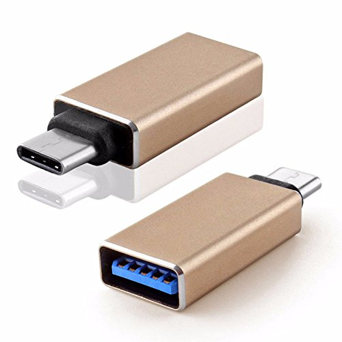 ApeCases Metal High-Speed Ultra-thin USB Type-C Male OTG to USB 3.0 Female for Nexus 5x, Nexus 6p, One Plus two,Lumia 950XL,Type-C OTG Supported Device