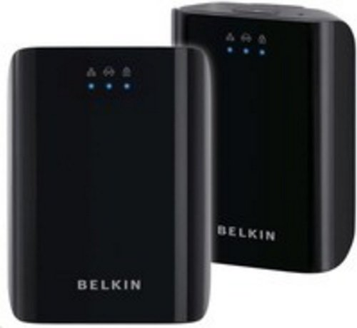 Belkin Play PL HD Dual Pack F5D4078UK