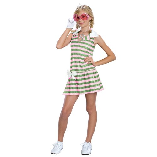 High School Musical Sharpay Golfdress Costume: Girl's Size 4-6