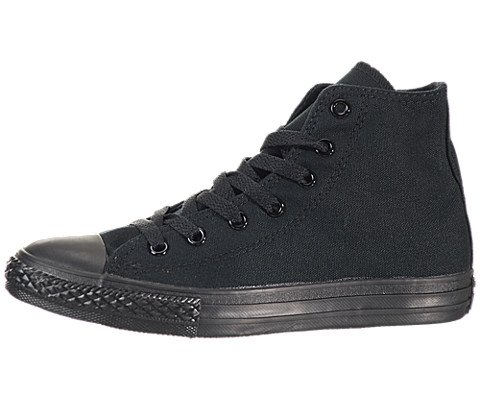 Converse Kids Chuck Taylor All Star Sp Hi Youth Black Monoch Basketball Shoe 3 Kids US