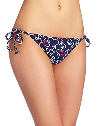 Lilly Pulitzer Women's Sandy String Bikini Bottom, Bright Navy Mate, Medium