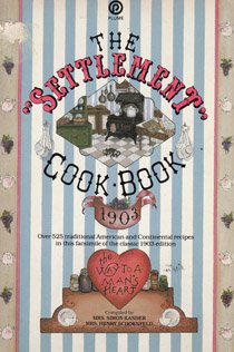 The Settlement Cookbook (Plume), Kander, Simon