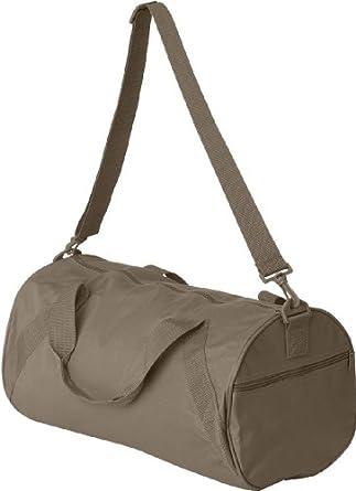 UltraClub® Barrel Duffel Bag - Khaki