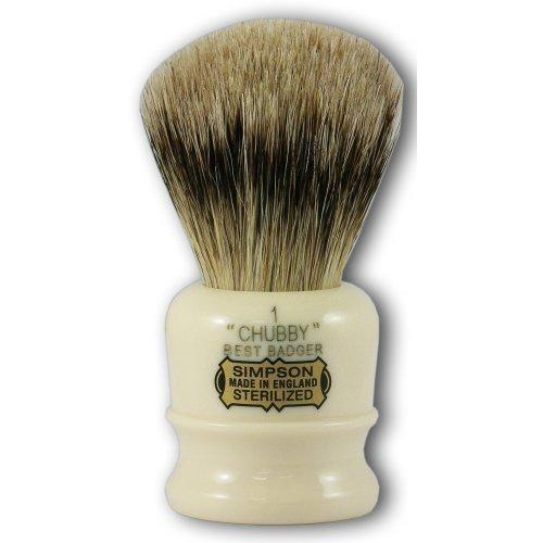 simpsons-chubby-1-best-peli-di-tasso-pennello-da-barba-con-manico-colore-avorio