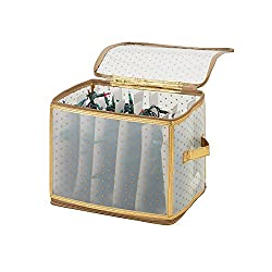 Simplify - 500 light storage tote with 5 Cardboard Winders