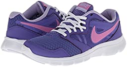 New Nike Girl\'s Flex Experience 3 Athletic Shoes Purple/Magenta 4.5