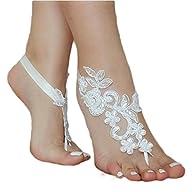 ASA Bridal Summer Crochet Barefoot Sa…