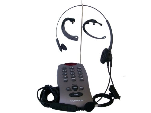 Single Line Dial Pad With Headset