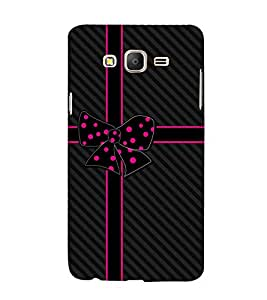 Beautiful Bow 3D Hard Polycarbonate Designer Back Case Cover for Samsung Galaxy On5 :: Samsung Galaxy On 5 G550FY