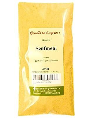 Gewürze-Express Senfmehl gelb 200g von Gewürze-Express - Gewürze Shop
