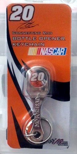 Tony Stewart NASCAR #20 Connecting Rod Bottle Opener Keychain