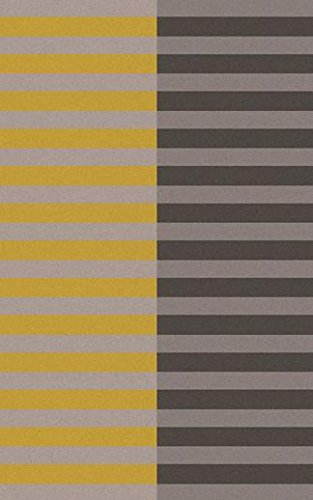 Surya FT563-58 Hand Woven Casual Area Rug, 5 by 8-Feet, Gold/Gray/Light Gray
