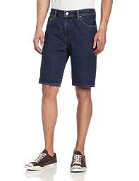 Levi\'s Men\'s 505 Regular Fit Short, Dark Stonewash, 38
