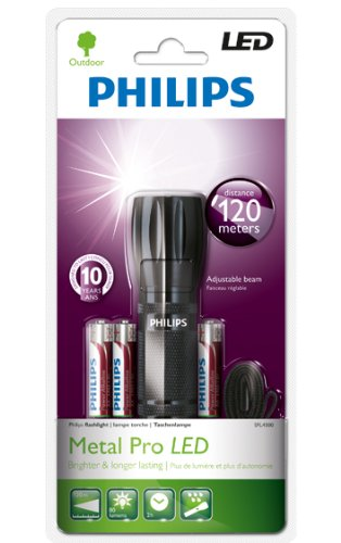 Philips 1W High Power Metal Pro Led Flashlight Sfl4500