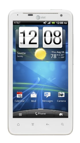 HTC Vivid 4G Android Phone, White (AT&T)