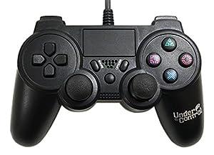 UnderControl - Manette filaire PS4 noire - 3700372706742