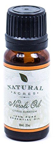 Neroli Essential Oil - 100% Pure Therapeutic Grade Neroli Oil by Natural Acres - 10ml