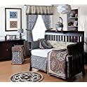 4 Piece Baby Crib Bedding Set