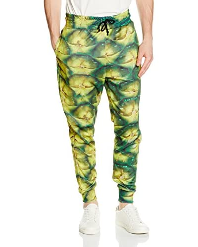 Mr. Gugu & Miss Go Sweatpants Unisex Pineapple grün