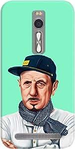 DailyObjects Charles De Gaulle Case For Asus Zenfone 2 ZE550ML/ZE551ML