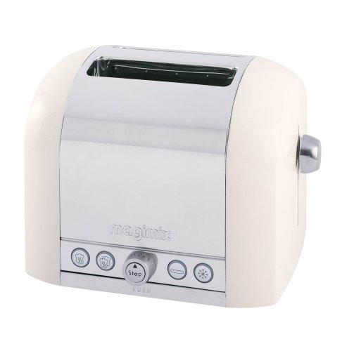 Magimix Le Toaster 2 slice toaster cream
