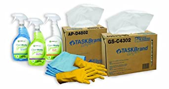 Hospeco ASK-GCKIT1 Starter Kit, General Cleaning, Standard