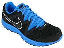 Nike Lunarfly Black Blue Glow Mens Running Shoes 487753-005 [US size 9.5]