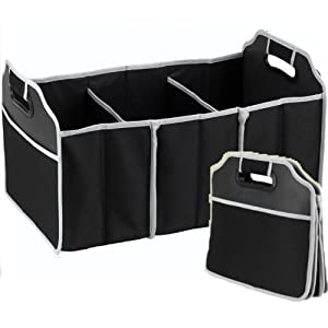2 in 1 car boot organiser shopping tidy heavy duty. Black Bedroom Furniture Sets. Home Design Ideas