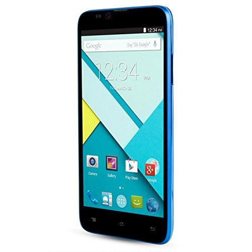 BLU Dash 5.5 - Unlocked Cell Phones - Retail Packaging - Blue