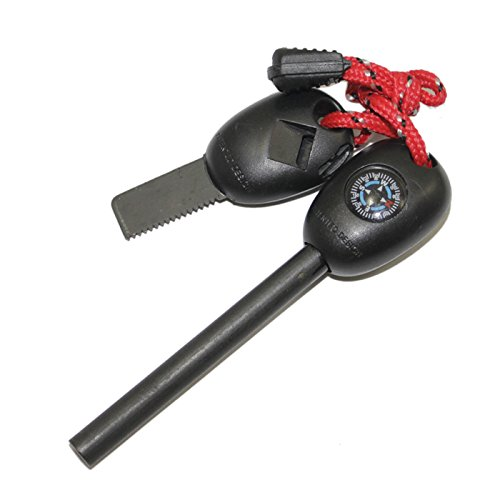 universal-incl-iniciador-de-fuego-compas-ligero-scraper-silbato-regla-cable-rojo-negro-firestarter-i