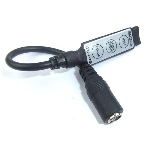Riorand 12V Rgb Dimmable Led Dimmer 5050 5630 Led Flexible Strip Dc Plug Brightness Adjust 144W