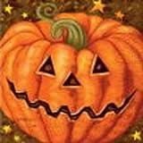 20 servilletas calabaza Halloween - �nica