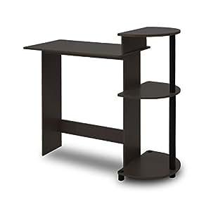Furinno 11181ex Bk 10015e Compact Computer Desk