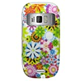 41UcxiDqCSL. SL160  Snap on Hard Plastic RUBBERIZED With SPRING GARDEN Design Cover Sleeve Case for NOKIA C7 ASTOUND (T MOBILE) With Removal PRY TOOL [WCC710]