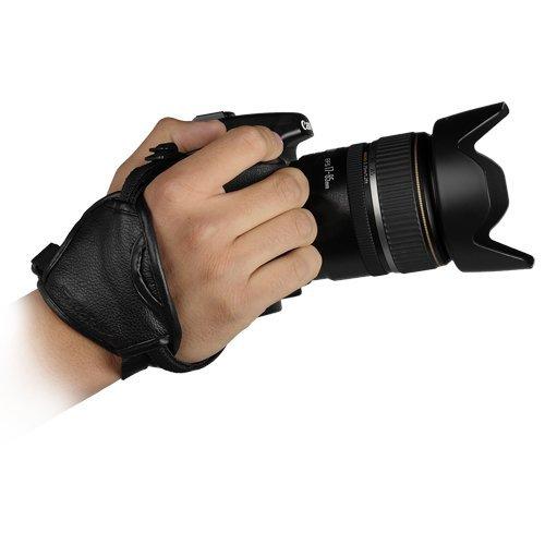 Cowboystudio Matin Genuine Leather Stabilizing Hand Grip Strap For Canon Eos, Nikon, Sony Alpha, Olympus & Pentax Digital Slr Cameras