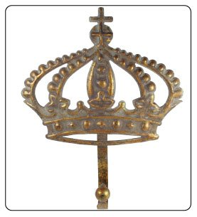 Hook Queen Crown Motif