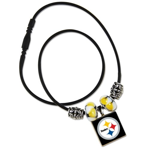 NFL Pittsburgh Steelers LifeTiles Necklace at Amazon.com