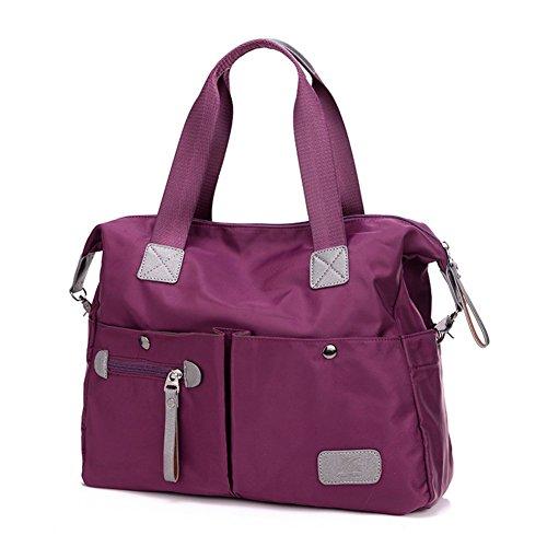 Lady sacchetto di nylon moda/Oxford Shoulder Bag Messenger/Borsa grande capacità-C