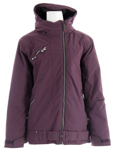B005KIR5M8 Ride Seward Insulated Ski Snowboard Jacket Deep Plum Sz M