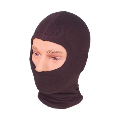 Lightweight Knitted Motorbike Balaclava. Colour Black.BNWT