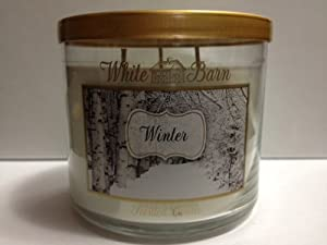 White Barn Winter Candle 3 Wick/14.5 oz. Bath & Body Works