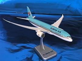 Hogan Wings Korean 787-8 1/200 No Gear Model Airplane