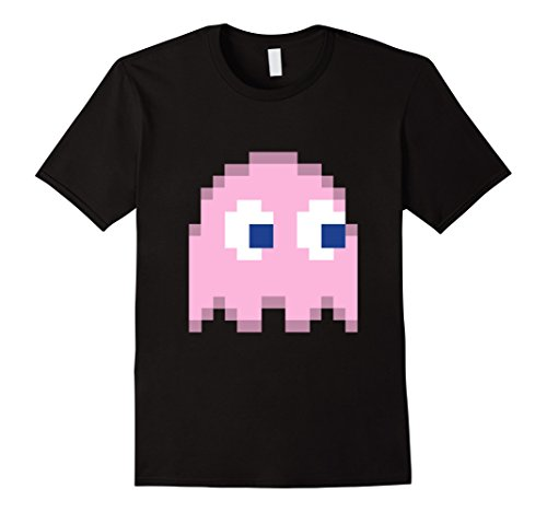 Men's Pinky Ghost Face Shirt - Funniest T Shirts Medium Black