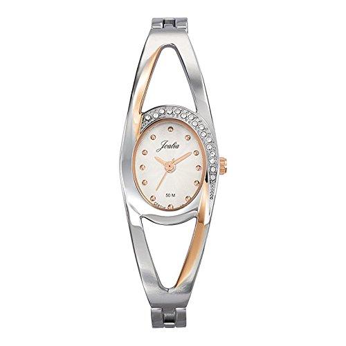 Joalia-634599-Orologio da donna con cinturino in metallo con quadrante, colore: argento