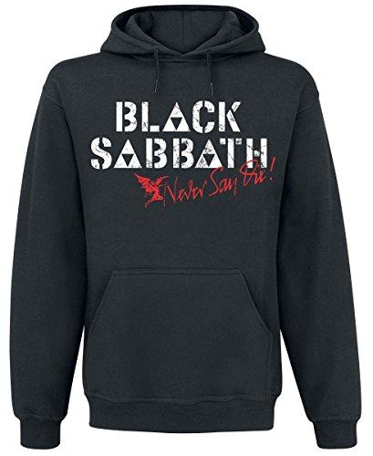 Black Sabbath Archangel Felpa con cappuccio nero M