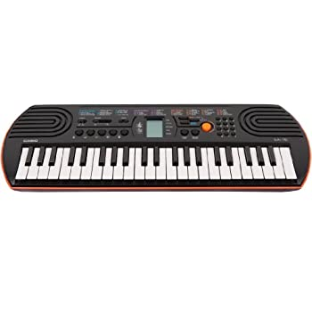 Set A Shopping Price Drop Alert For Casio SA-76 44 Key Mini Keyboard, Orange